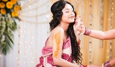 massaggio nuziale indiano