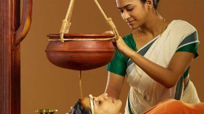 corso di massaggio ayurvedico shirodhara