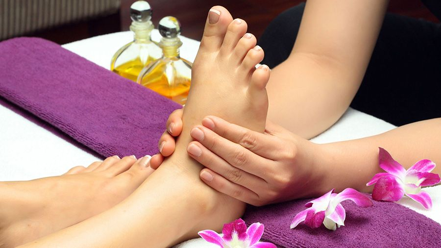 corso di thai foot massage
