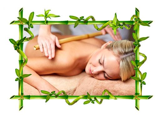 tecnica bamboo massage